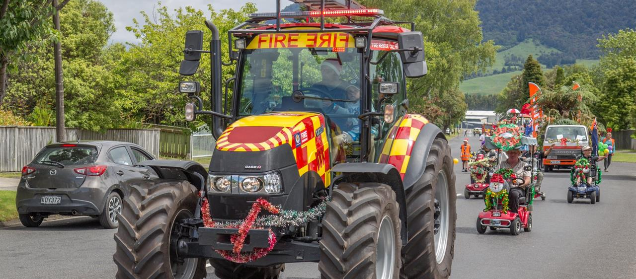 Fire Tractor Proves A Hit With Rural Audience