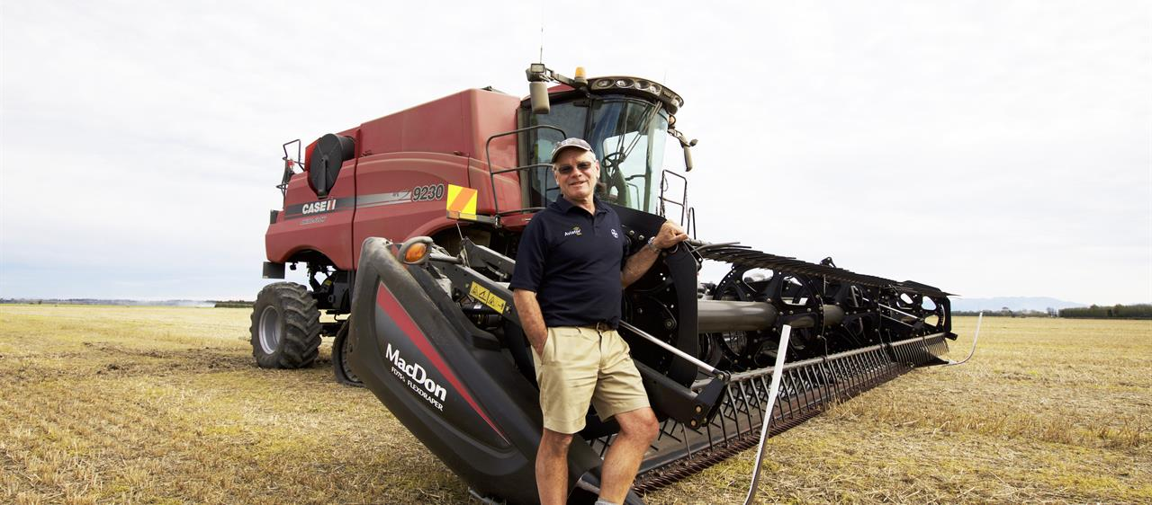 Case IH Gear Pivotal To Wheat Record