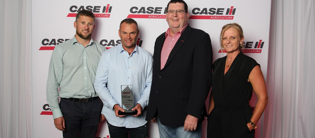 New Zealand businesses rewarded with Case IH Dealer of the Year awards