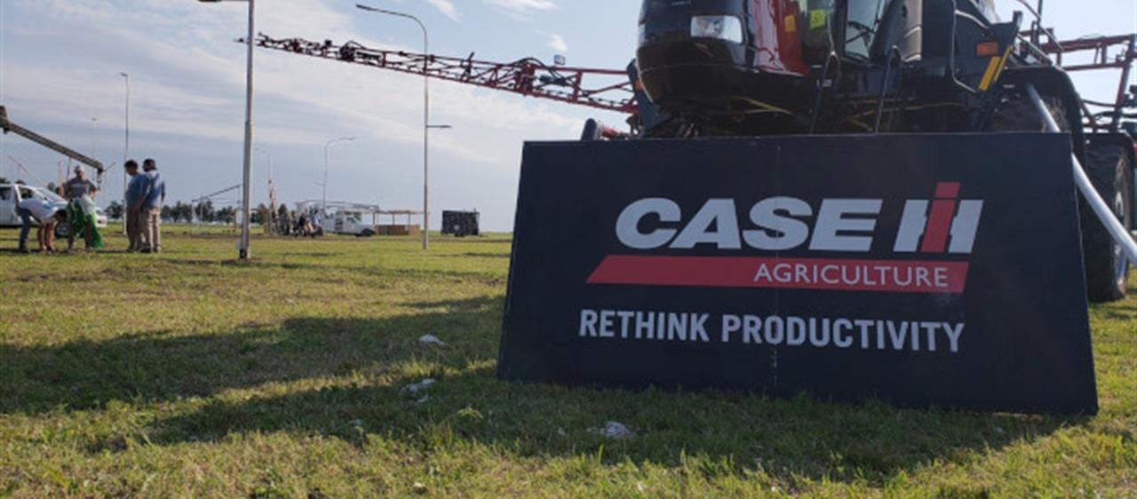 Case IH se distinguió en Expo Rufino
